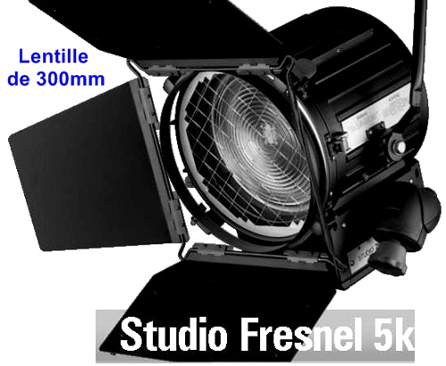 5kw studio fresnel halog ne lentille 300mm avignon orange nimes vaucluse bouches du rhone. Black Bedroom Furniture Sets. Home Design Ideas