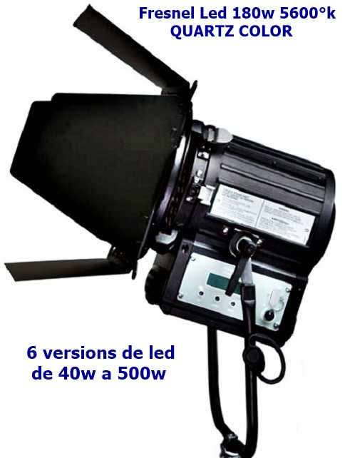 Led Tele Color 3200k5600kbi Studio Projecteur Quartz Fresnel oBWCrdxe