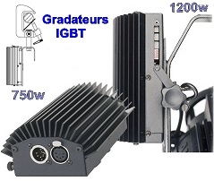 GRADATEURS IGBT 750w / 1200w LIGHTPACK DMX Strand Lighting