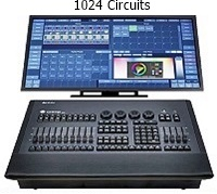 CONSOLE 500ML STRAND LIGHTING 500 Circuits sur 4 Full Univers DMX - 4490€ht