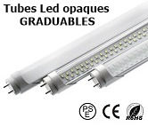 TUBE LED T8 en 150cm - 120cm - 60cm DIMMABLE - VARIABLE en 230Vac