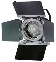 FRESNEL 300/500w Bambino 90mm QUARTZCOLOR
